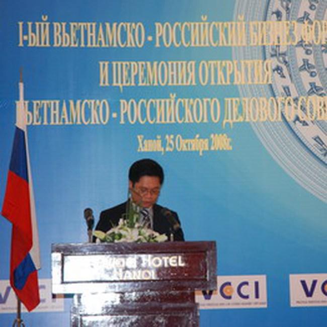 Thành lập Hội đồng doanh nghiệp Việt – Nga VRBC