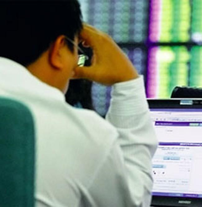 Phiên giao dịch đầu năm mới: Vn-Index đang giảm điểm