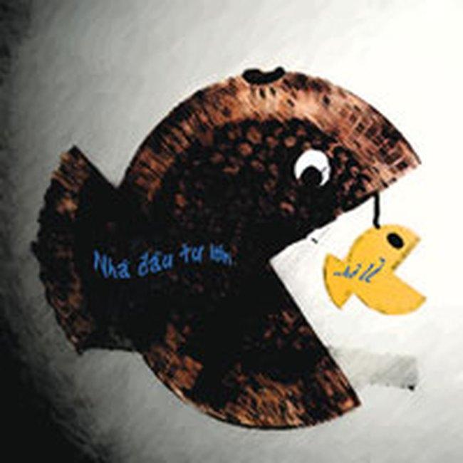 Cá lớn chờ quẫy đuôi