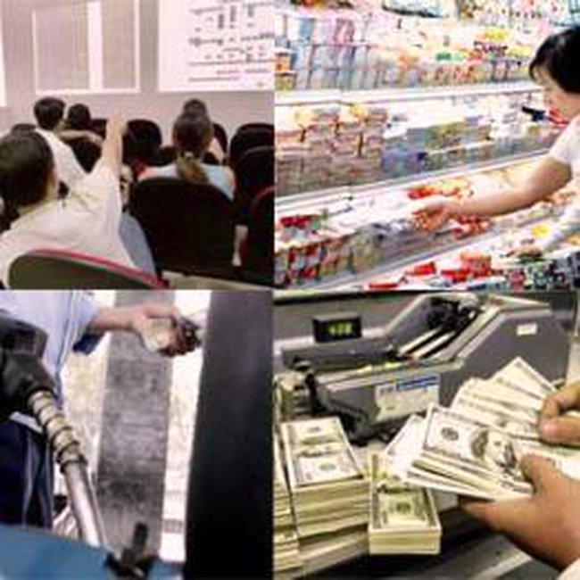 Giá cả tụt dốc: Xu thế chủ đạo năm 2009