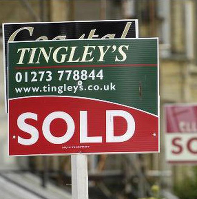 Năm 2008, giá nhà đất Anh hạ mạnh nhất từ năm 1991