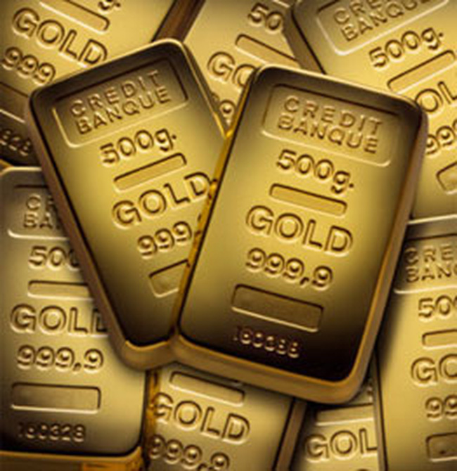 USD mạnh lên, giá vàng đi xuống