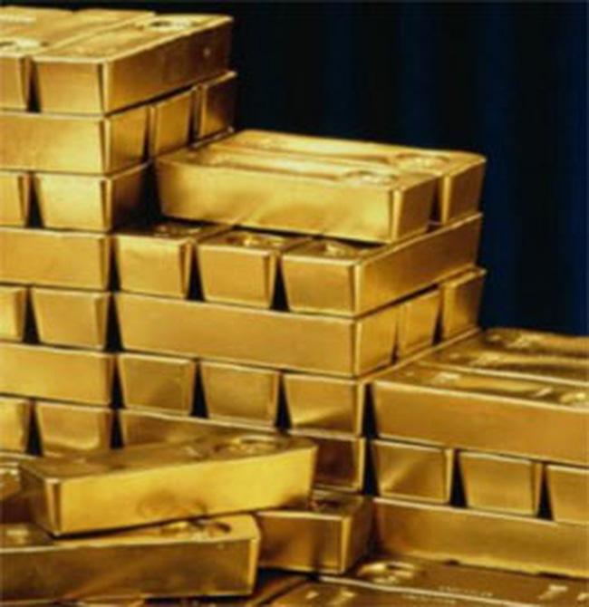 Giá vàng tăng mạnh vào cuối giờ chiều
