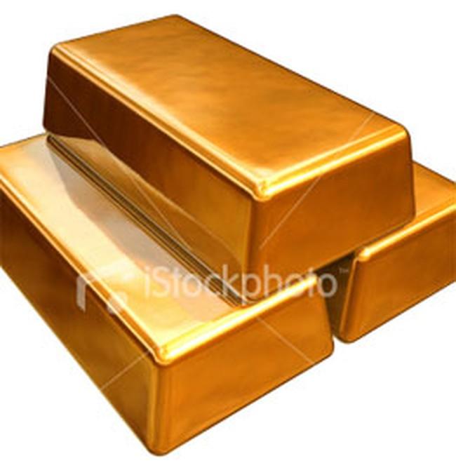 Giá vàng có tuần giảm đầu tiên trong 5 tuần