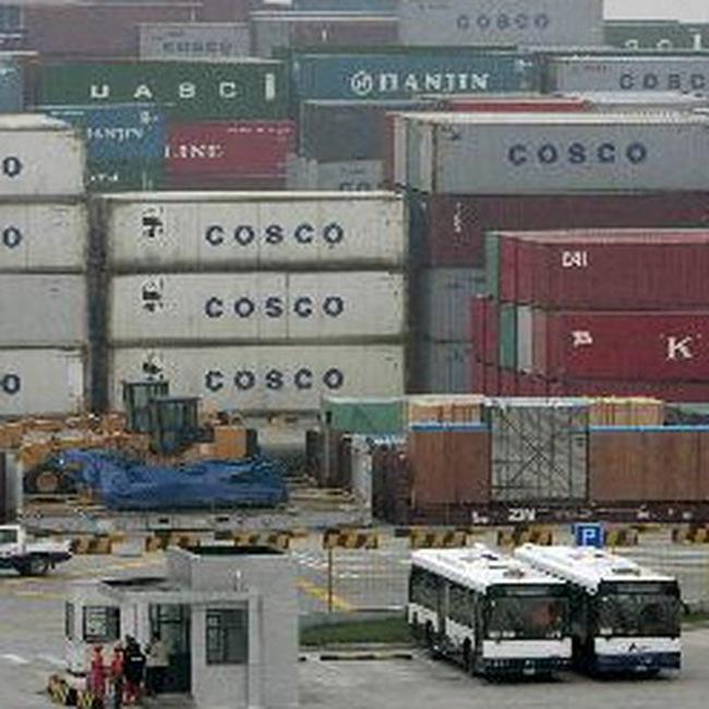 Xuất nhập khẩu của Trung Quốc tháng 12/2008 giảm mạnh