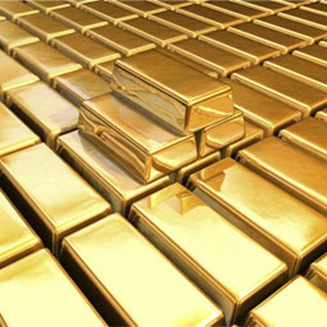 Giá vàng hạ, giá dầu lên gần mức 40USD/thùng