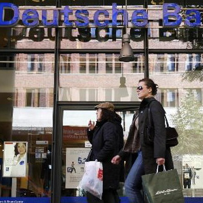 Deutsche Bank AG thua lỗ 6,3 tỷ USD trong quý 4/2008