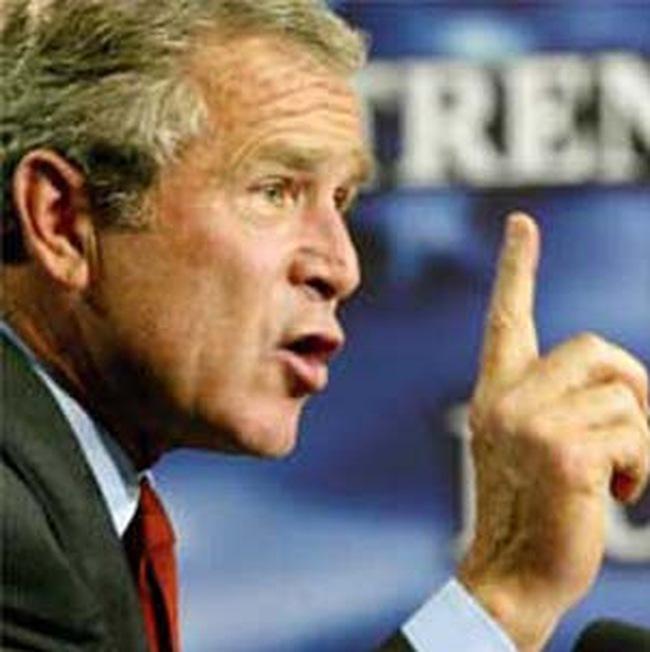 Bush cũng mất tiền vì khủng hoảng tài chính