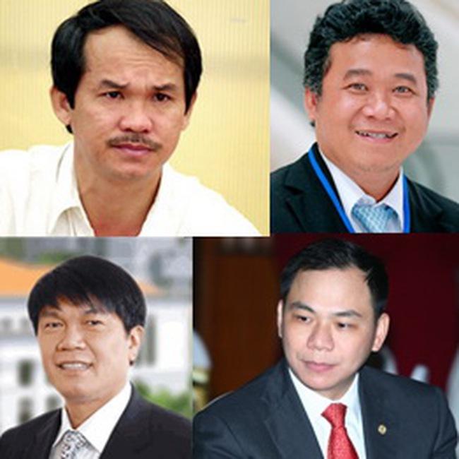 """7 """"đại gia"""" giàu nhất TTCK Việt Nam"""