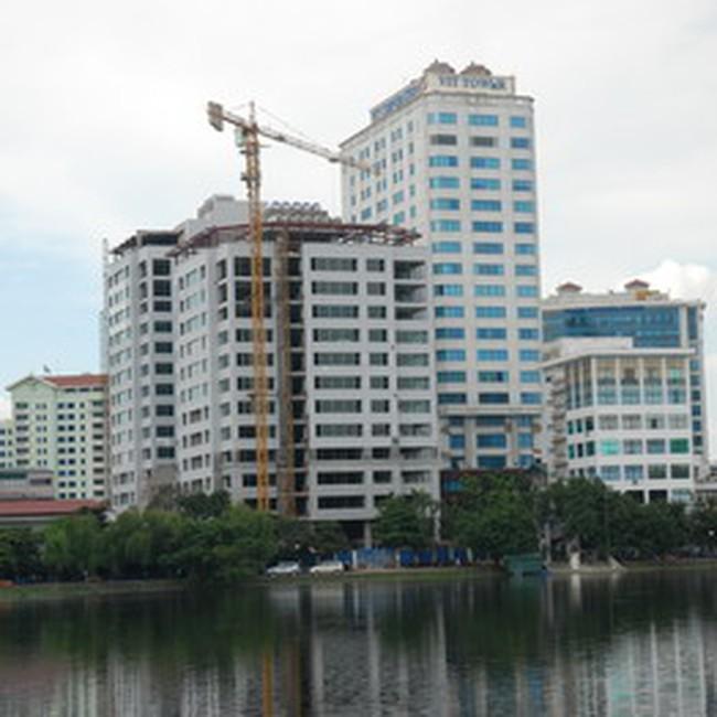 Tỷ lệ văn phòng trống Hà Nội đang tăng dần