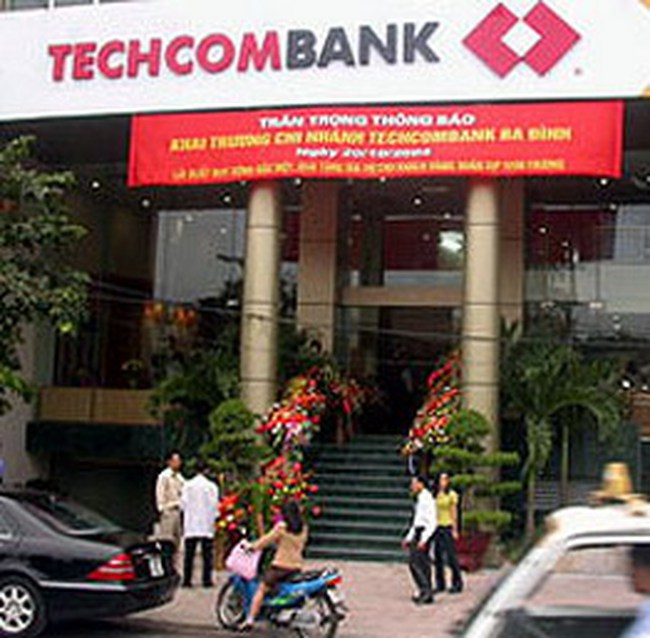 Techcombank đạt 1600 tỷ đồng lợi nhuận trước thuế năm 2008