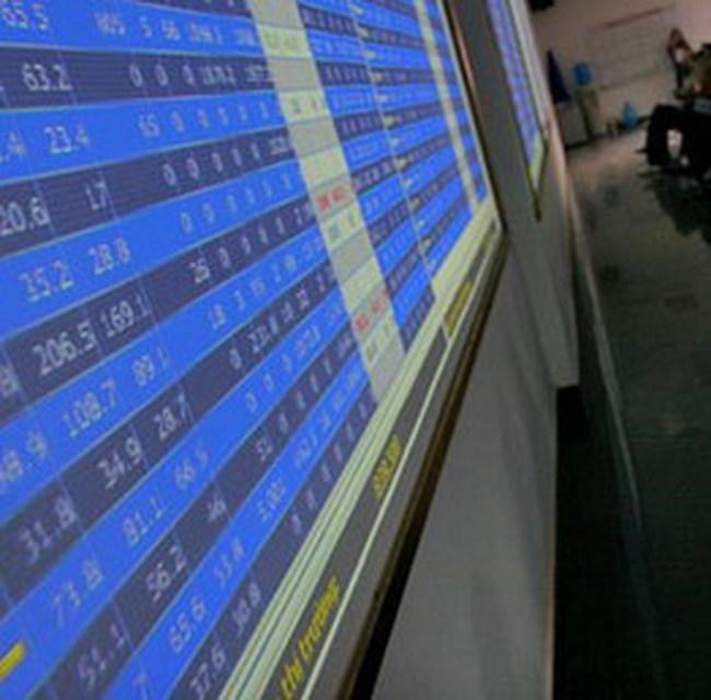 Tổng giá trị giao dịch hai sàn chưa đến 160 tỷ đồng