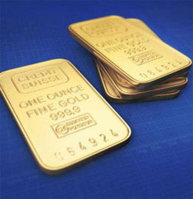 Giá vàng hạ do USD tăng giá