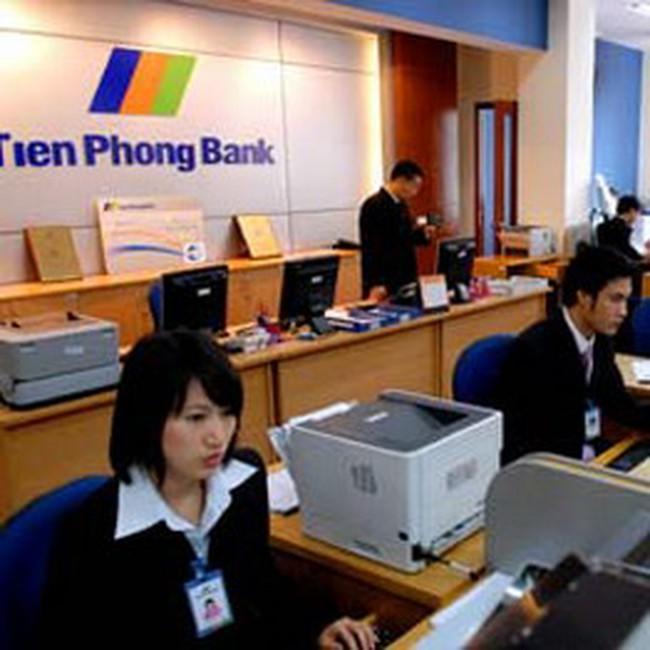 TienPhongBank không đặt mục tiêu lợi nhuận năm 2008 lên hàng đầu