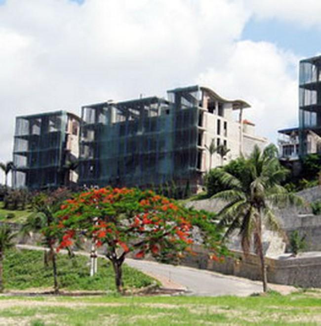 Bất động sản và chứng khoán giảm ảnh hưởng tới nhiều dự án