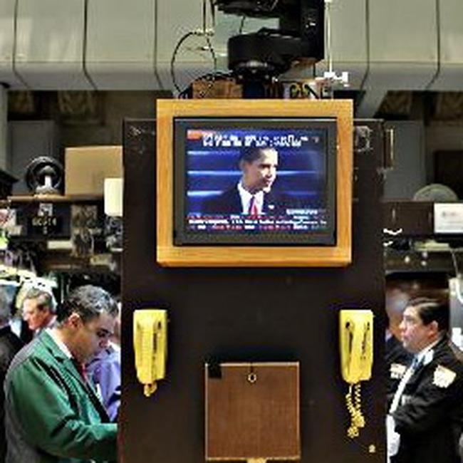 Dow Jones mất điểm mạnh trong ngày Tổng thống nhậm chức