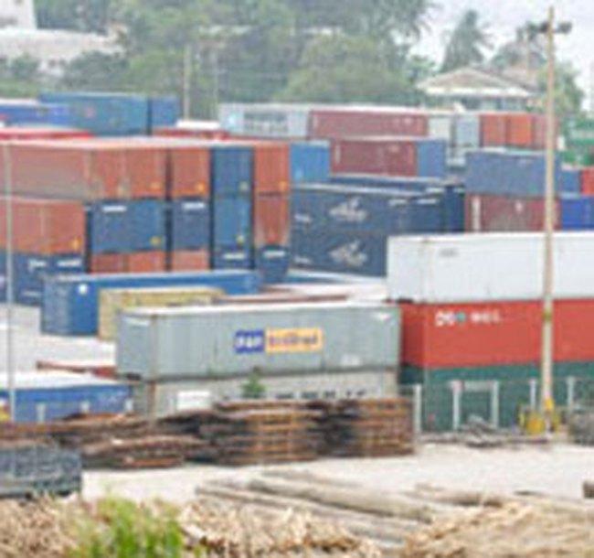 Kim ngạch nhập khẩu giảm mạnh