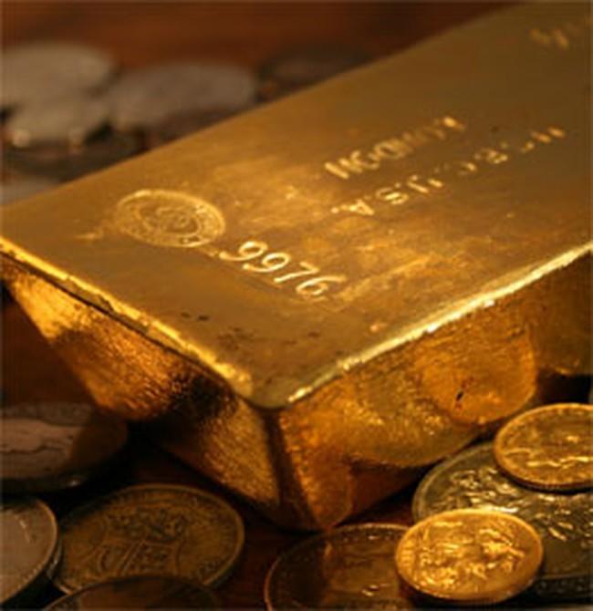 Giá vàng tại châu Á hạ