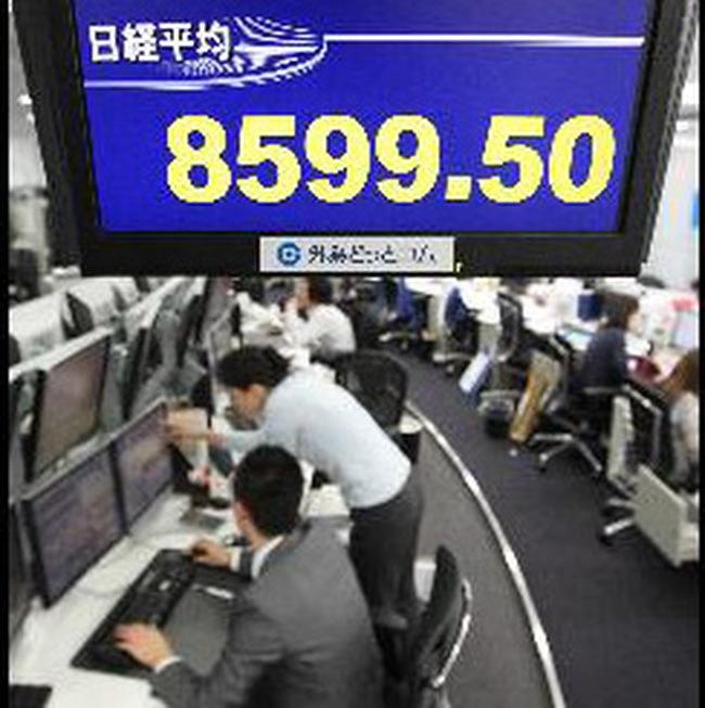 TTCK châu Á bất ngờ tăng điểm