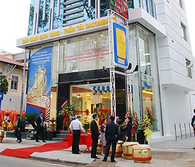Cấm ngân hàng mở sàn vàng mới