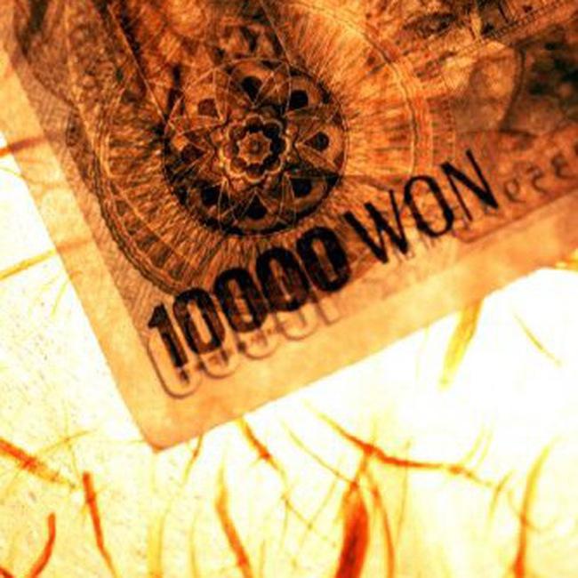 Đồng won Hàn Quốc liên tục tăng giá ấn tượng so với USD