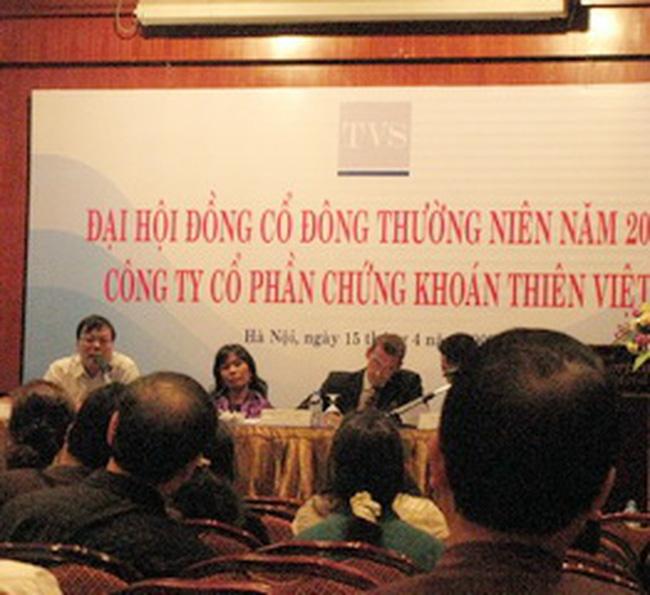 Chứng khoán Thiên Việt: năm 2009 dùng 290 tỷ đồng cho các khoản đầu tư mới