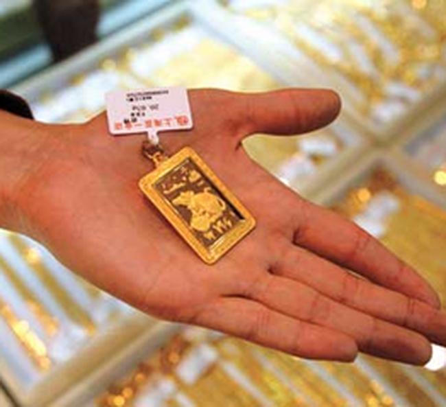 Giá vàng giảm mạnh 190.000 đồng/lượng