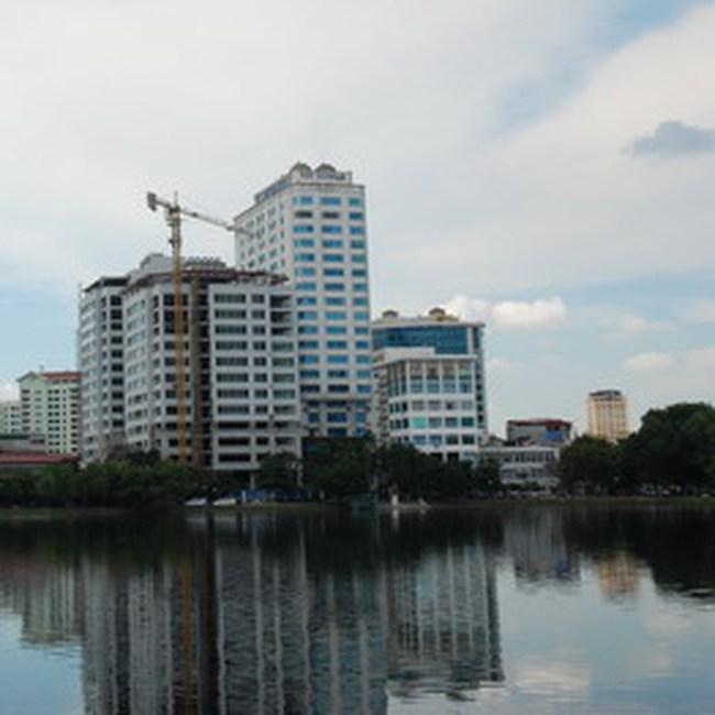 Xây dựng khu nhà ở cao tầng cạnh ngã tư Daewoo