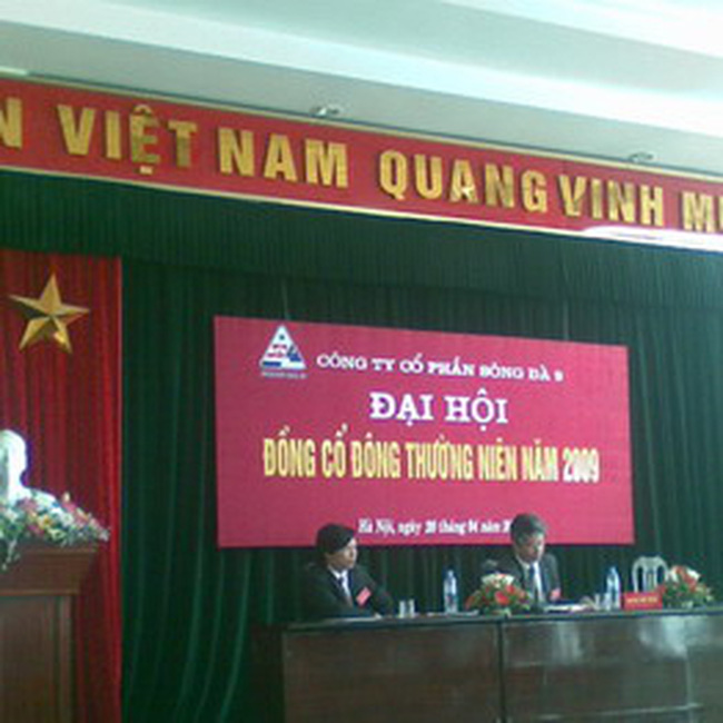 SD9: Năm 2009 không đầu tư tài chính