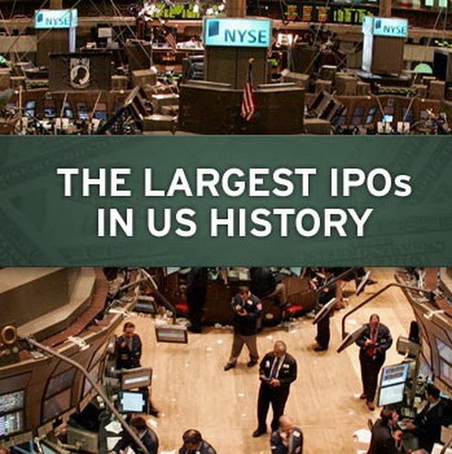 10 vụ IPO lớn nhất lịch sử nước Mỹ