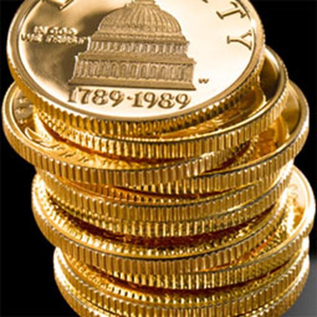 Vàng tăng nhẹ, USD tự do tăng lên 18.210 đồng