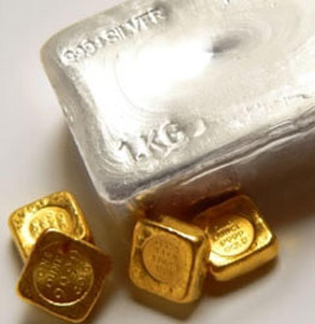 Giá vàng trong nước giảm từ từ