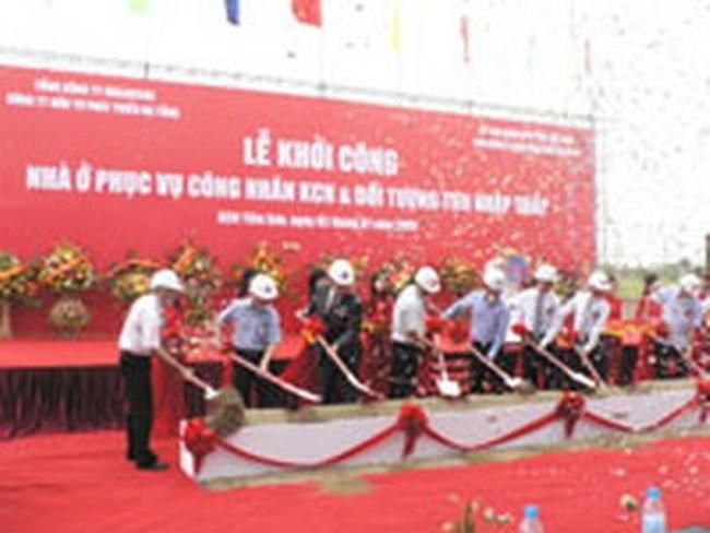 Khởi công 2 dự án nhà ở xã hội tại Bắc Ninh