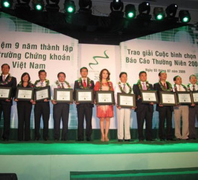 DHG: Đạt giải Báo cáo thường niên xuất sắc nhất năm 2008