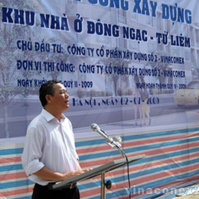 VC2: Khởi công xây dựng dự án khu nhà ở tại Đông Ngạc, Từ Liêm Hà Nội