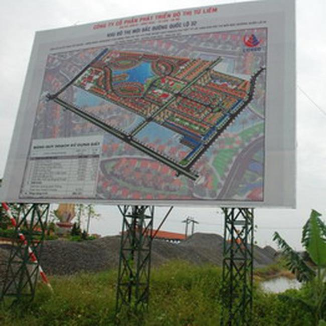 Công bố công khai đồ án quy hoạch đô thị từ 01/01/2010