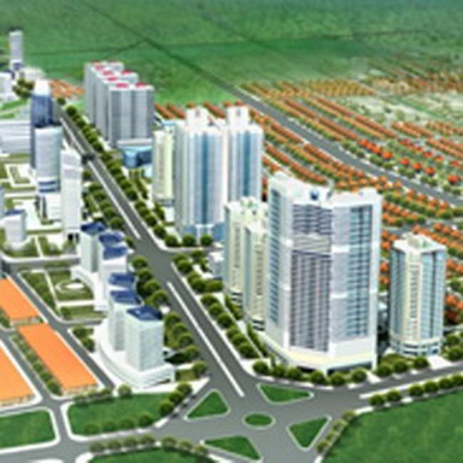 Phía Tây Hà Nội lại có thêm Khu đô thị mới