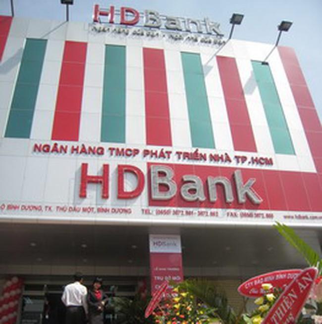 6 tháng đầu năm HDBank đạt 128 tỷ đồng lợi nhuận