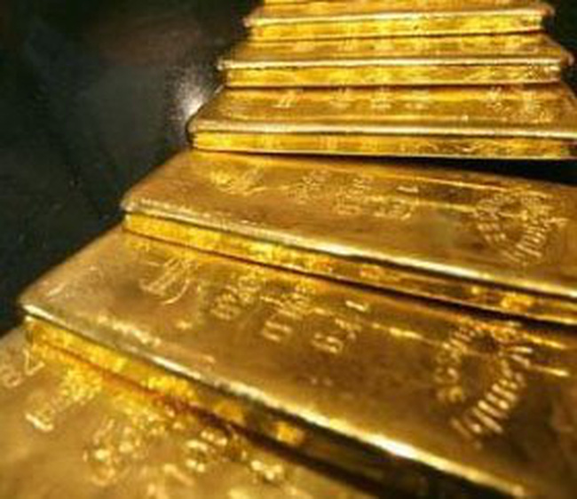 Giá vàng giảm nhỏ giọt