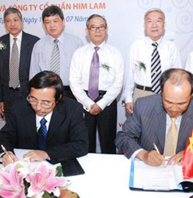 Vietcombank tài trợ vốn cho dự án Him Lam Riverside