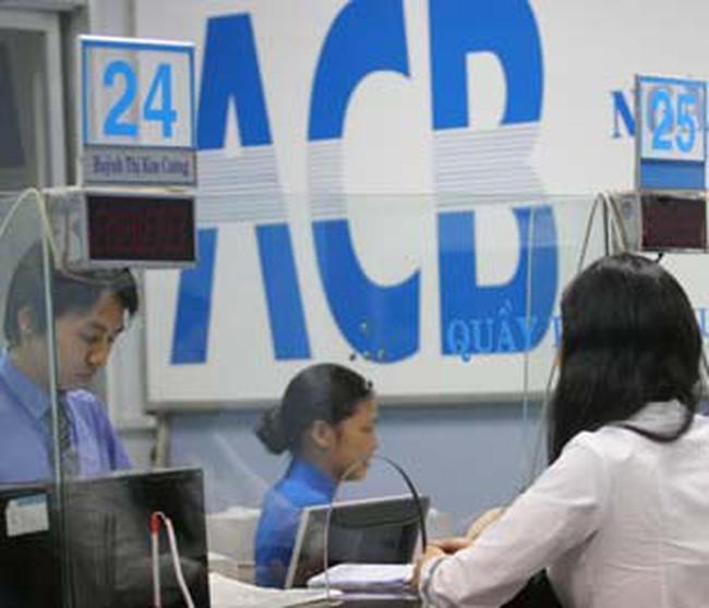 ACB được tăng vốn lên 7.814 tỷ đồng