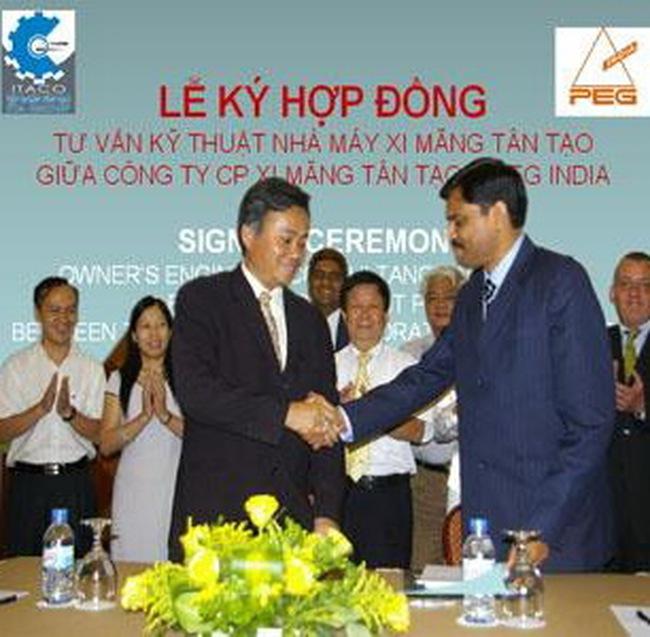 ITA: Ký hợp đồng tư vấn kỹ thuật cho Nhà máy xi măng Tân Tạo