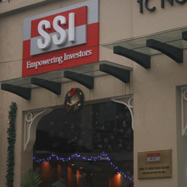 SSI: Lợi nhuận sau thuế 6 tháng đạt 235 tỷ đồng