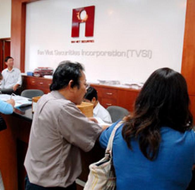 TVSI tiếp tục triển khai dịch vụ cầm cố cổ phiếu