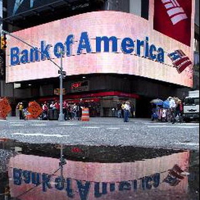 Bank of America công bố lợi nhuận quý 2/2009 giảm