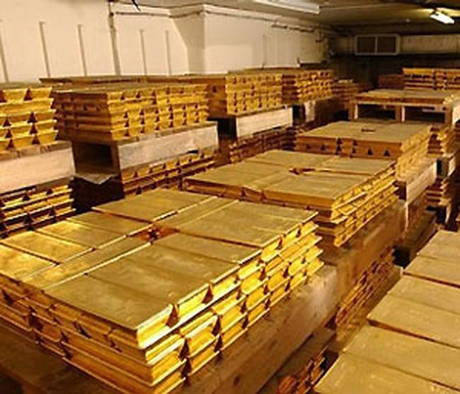 Giá vàng biến động chậm chạp