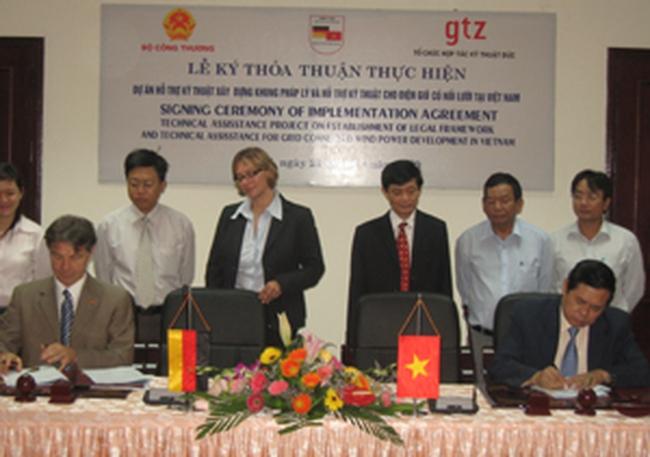 1 triệu Euro phát triển phong điện tại Việt Nam