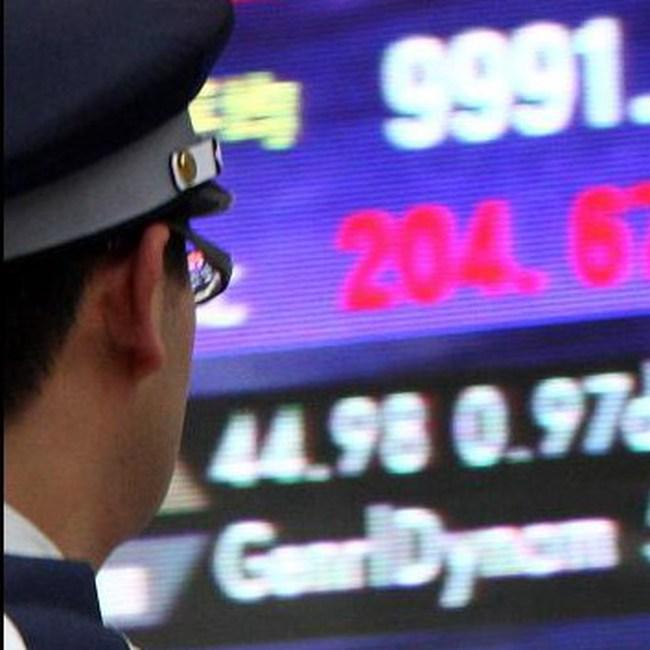 TTCK châu Á lên mức cao nhất trong 9 tháng