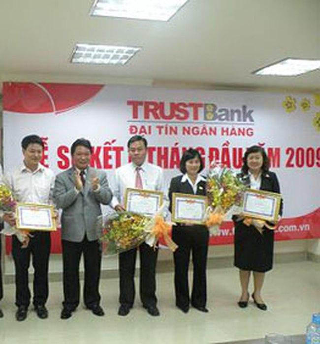 TrustBank đạt lợi nhuận 53,40 tỷ đồng