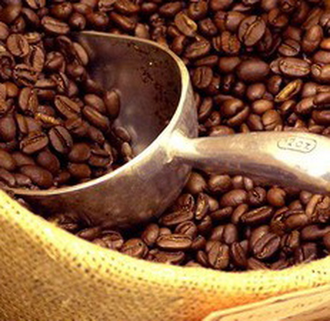 Giá cà phê lại tăng mạnh gần 30 USD/tấn